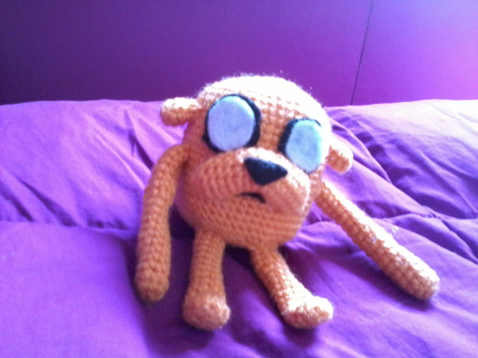 Jake El Perro Hora De Aventura - Amigurumi Tejido A Crochet ... | 1200x1600