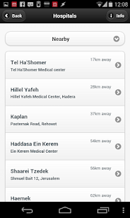 Medical Services Locator - náhled