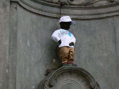 Obiective turistice Bruxelles: Mannekin Pis