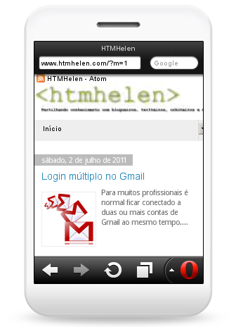 HTMHelen no Opera Mini