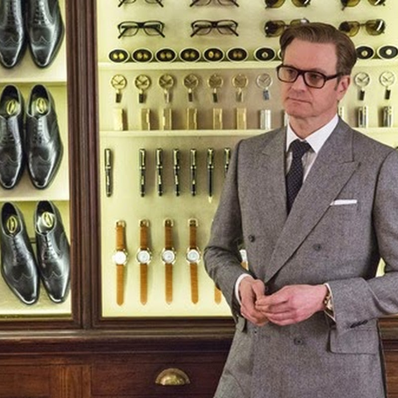 "Colin Firth in a Series of Standout Action Scenes in ""Kingsman: The Secret Service"""