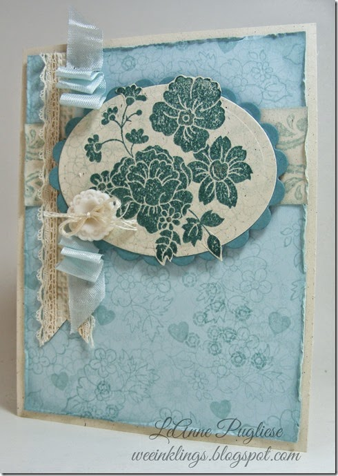 LeAnne Pugliese WeeInklings Hello Darling Stampin Up