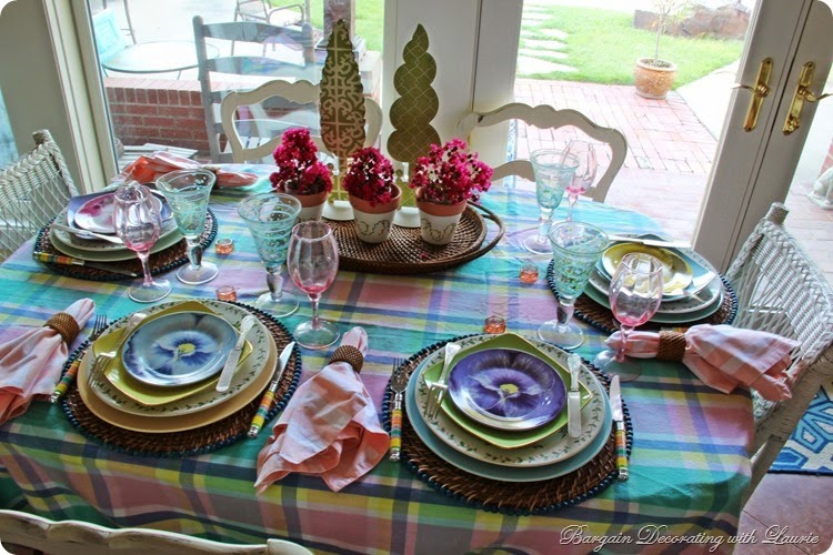 Garden Tablescape 1