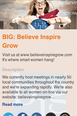 BIG: Believe Inspire Grow- screenshot