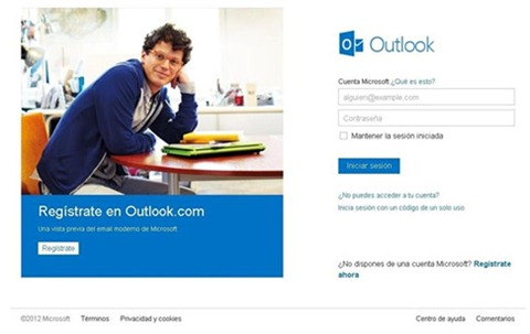 Medidas de seguridad en Outlook
