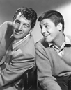 c0 Dean Martin and Jerry Lewis very large scan suitable for desktop wallpaper, from PepeTube.com