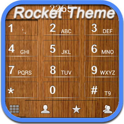 RocketDial Wood Theme