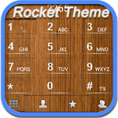 RocketDial Wood Theme