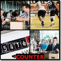 COUNTER- 4 Pics 1 Word Answers 3 Letters
