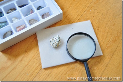 Earth Science: Rock Study Activity 1, Physical Observation