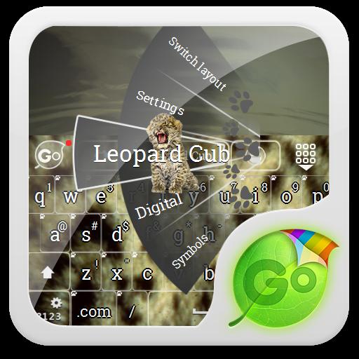 豹幼崽 GO Keyboard LOGO-APP點子