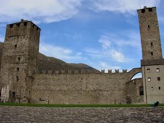 Torre Bianca et Torre Nera dans le Château de Castelgrande