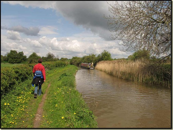 Beside the Trent & Mersey Canal north of Middlewich