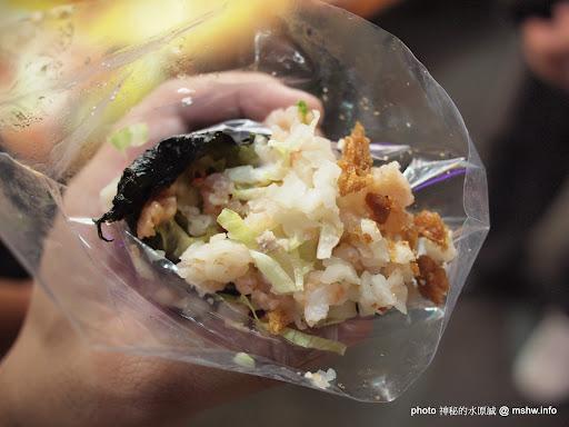 """每一口都滿足的美味! ~ 台北士林夜市""""粵式蝦鬆王手卷"""" 中式 區域 台北市 士林區 宵夜 日式 輕食 飲食/食記/吃吃喝喝"""