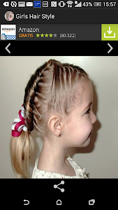 Trendy hairstyles for girls screenshot 1