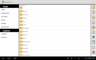 Screenshot of AndroZip™ PRO File Manager