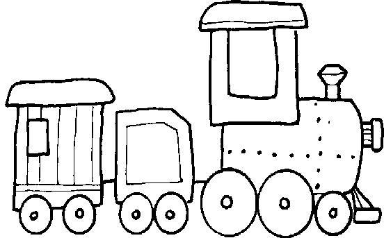 Dibujos Medios De Transporte Para Colorear