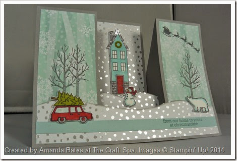 White Christmas, Holiday Home, Amanda Bates, The Craft Spa 004