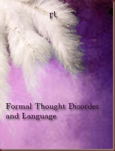 Formal Thought Disorder and Language Cover