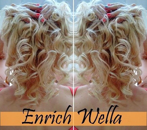 resultado cabelo Wella Enrich Auto aquecida