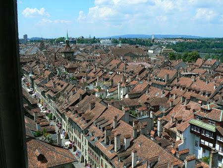 Imagini Elvetia: Berna vazuta din clopotnita