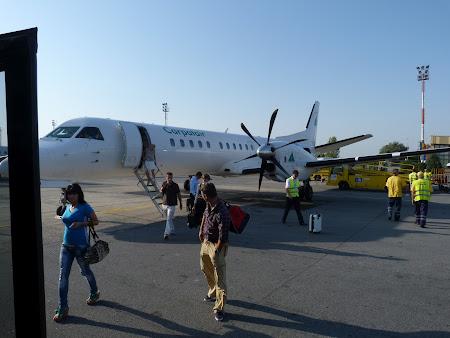 1. aeroport Carpatair la Timisoara.JPG
