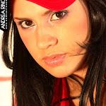 Andrea Rincon, Selena Spice Galeria 55 : Vestido Rojo y Tanga Roja – AndreaRincon.com Foto 13
