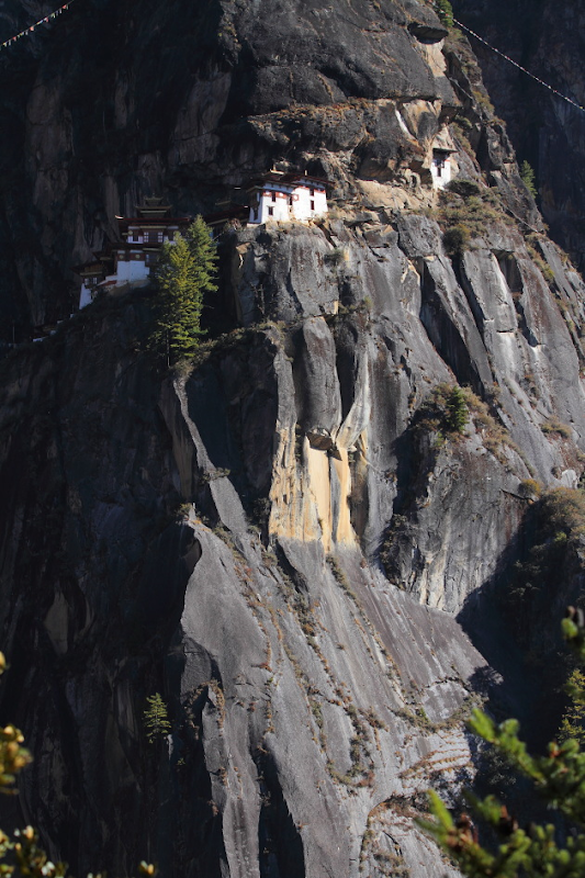 Tiger's Nest - the famous temple of Bhutan