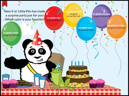Little Pim App party