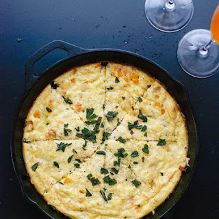 Butternut Squash Frittata with Fried Sage.