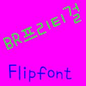 BRprittygirl™ Korean Flipfont