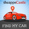Find my car. Car Locator icon