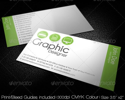 Clean-Simple-Agency-Business-Card