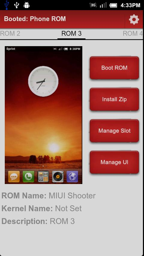 Boot Manager Pro - screenshot