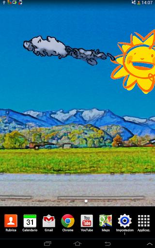 Animated Landscape Wallpaper