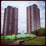 Tower Blocks in Bermondsey