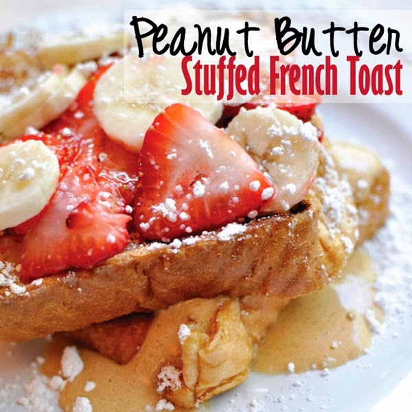Peanut Butter Stuffed French Toast #Recipe #EnergytoBurn #spon