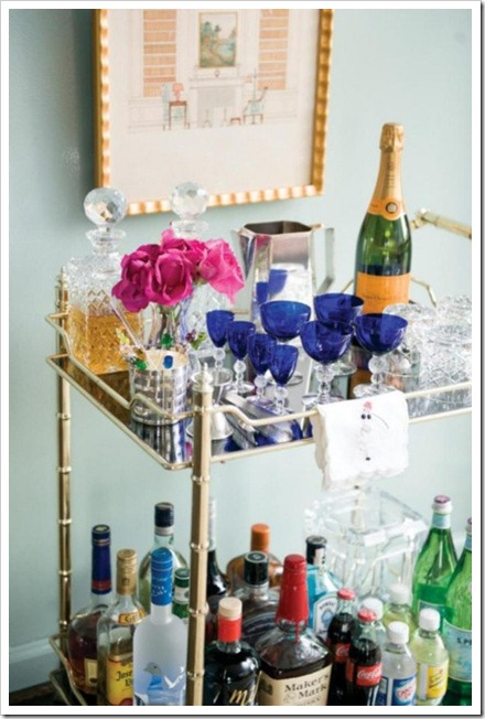 bar carts atlanta homes magazine