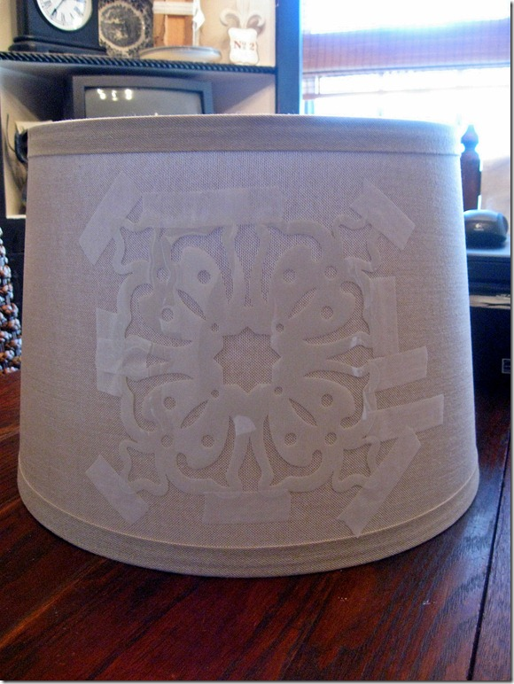 stenciled lamp 009