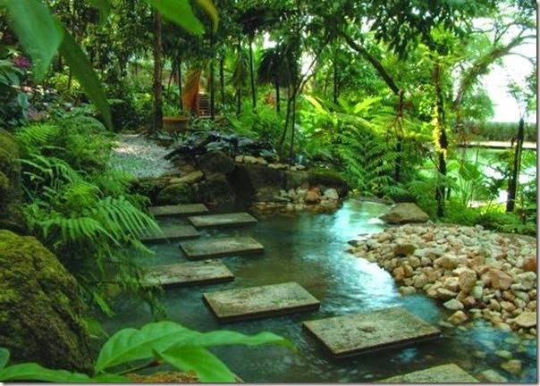 Tropical Spice Garden stepstone