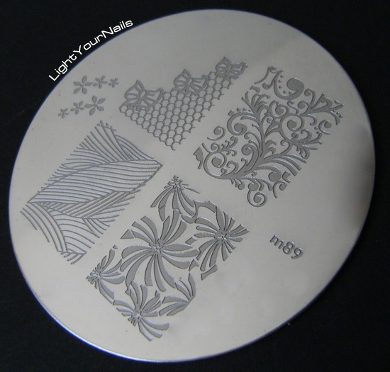 Born Pretty Store stamping plate m89