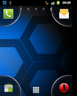 Sony Xperia Launcher (With 4 Corners) - Android HVGA Group