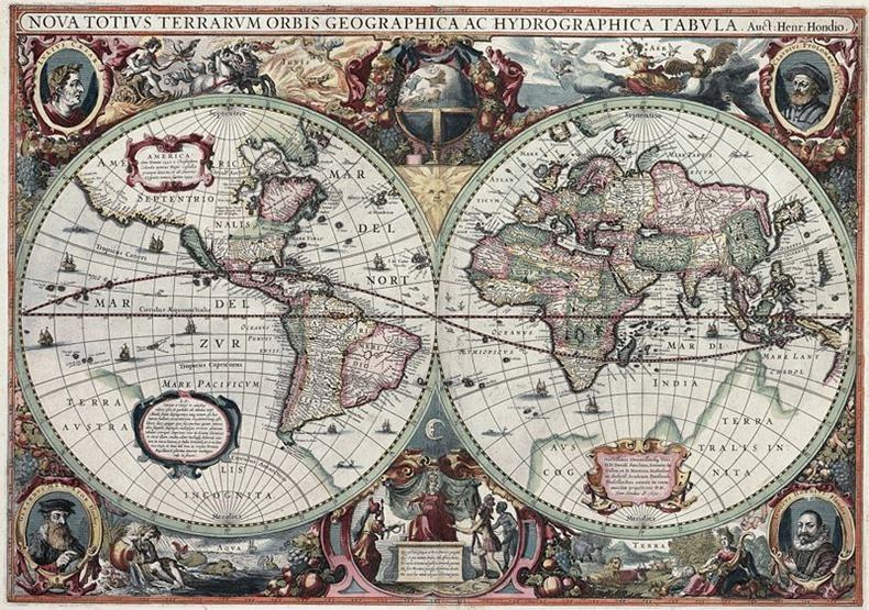 Coming of age in cartography evolution of the world map amusing 17th century ad gumiabroncs Gallery