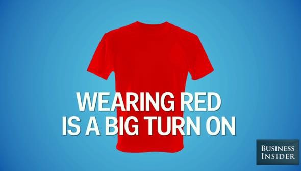 Th wearing red big turn