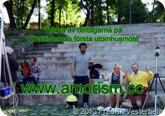 DSC07368.jpg Amoristerna i Rålambshovsparken första utomhusmöte. Med amorism