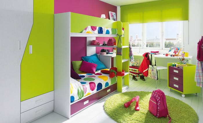 Delightful Habitaciones Infantiles Con Literas. Literas Niko De Kibuc