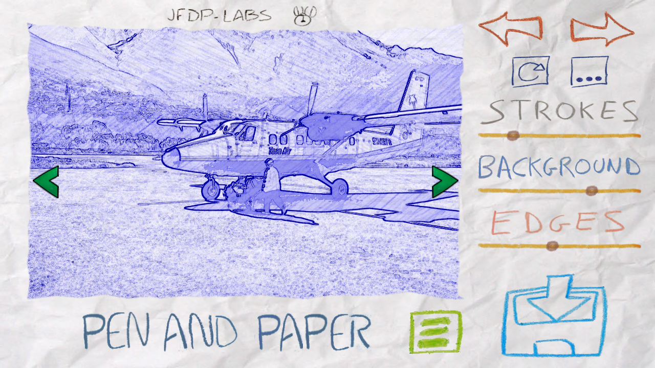 Paper Camera - screenshot