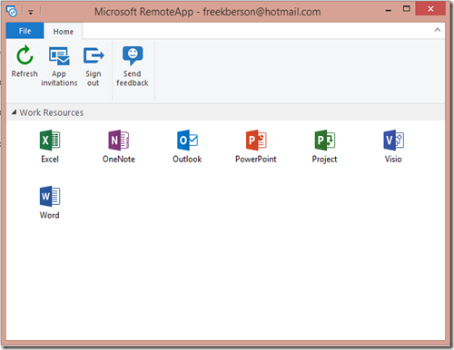 The Microsoft Platform: Microsoft Azure RemoteApp preview