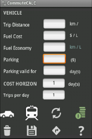 Commute Cost Calculator