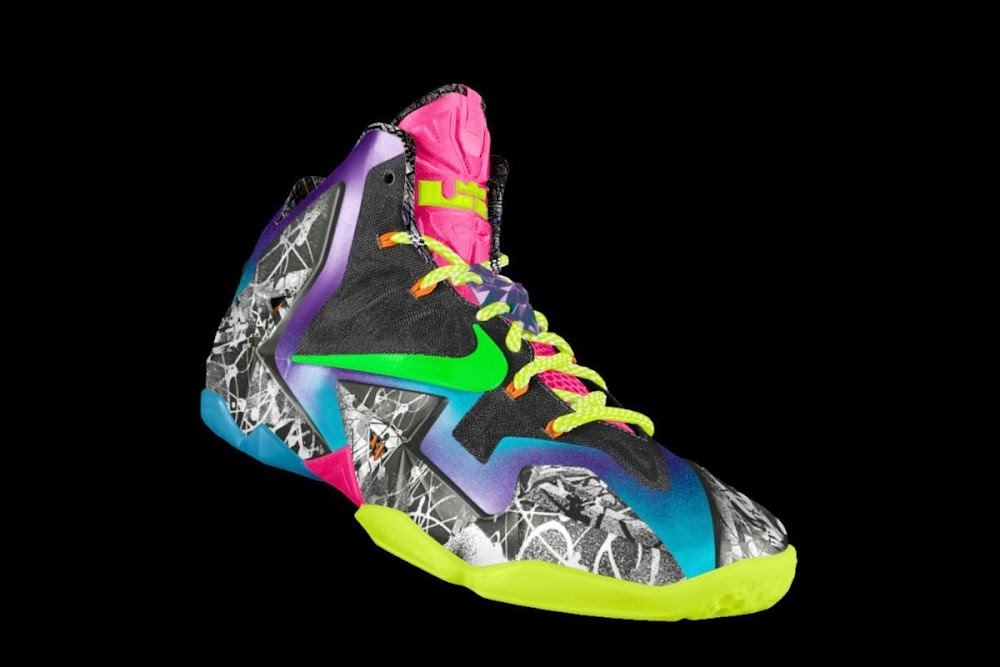 sale retailer 6d948 8f4d6 ... Nike Unleashed Endless Possibilities with LeBron 11 Gumbo iD ...